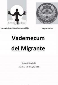 Vedemecum del Migrante
