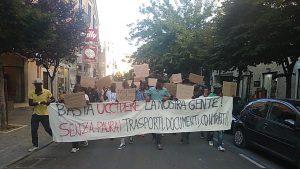 BASTA UCCIDERE LA NOSTRA GENTE - Foggia 7 agosto 2018